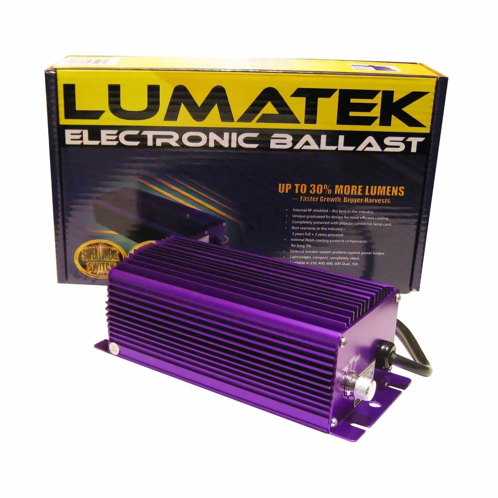 Lumatek Digital Ballast 400w Dimmer - Eclairage Lampes Ballast ...