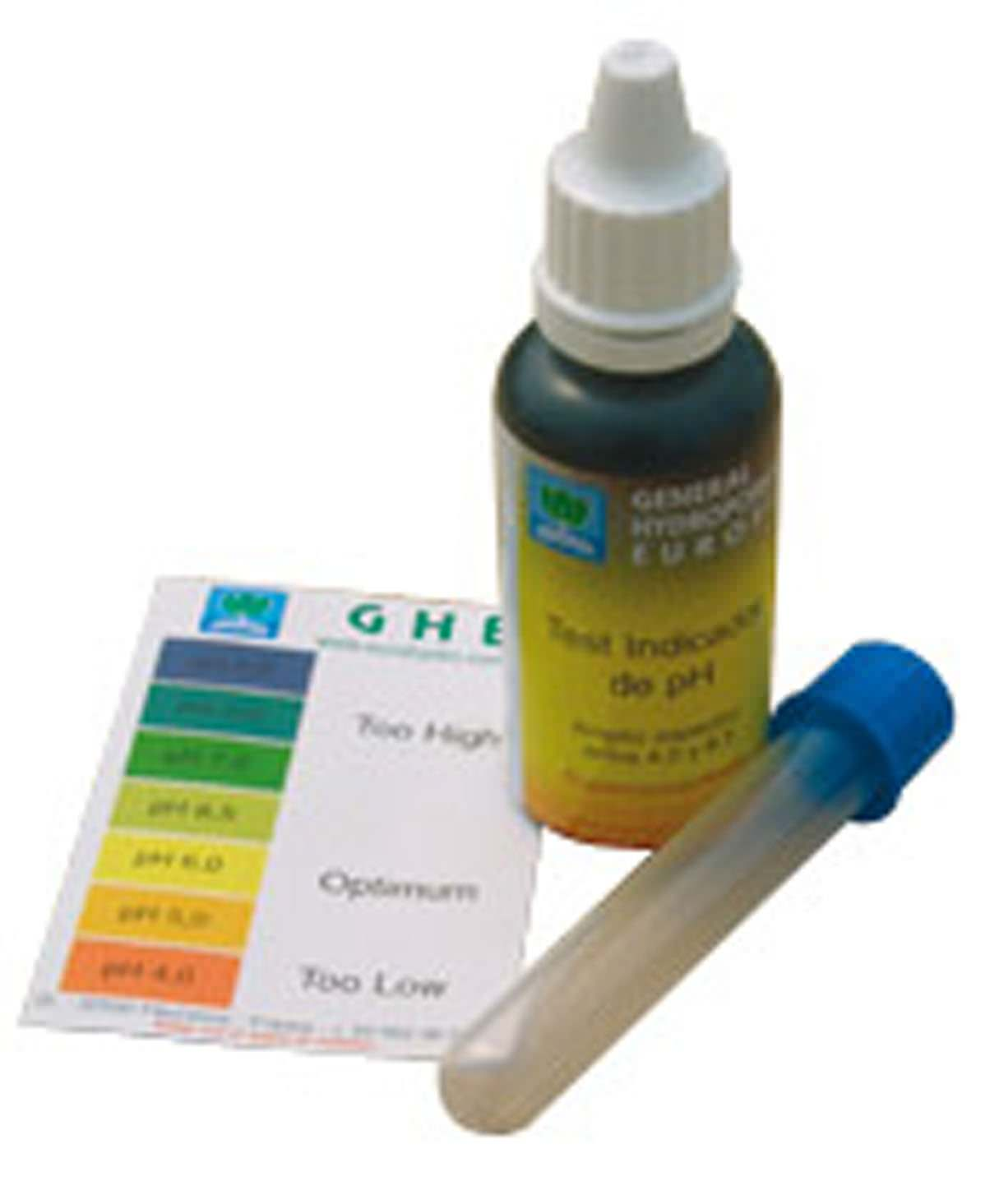 Ghe ph test kit dosage et mesures testeur de ph - Testeur ph terre jardin ...