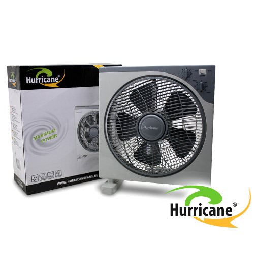 Ventilateur box hurricane 30cm brasseur d 39 air 360 - Ventilateur chambre de culture ...