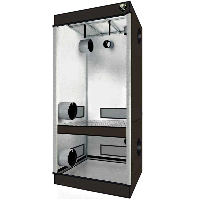 Twin box 90x60x200cm chambre de culture double croissace et flo - Chambre de culture double ...