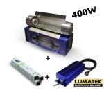 Kit 400w HPS Lumatek Cooltube