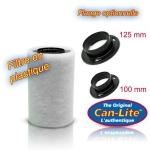 Filtre à charbon en plastique 150 m3 Can-Lite Can-filters