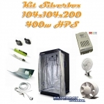 Kit Silverbox Evolution 1m2 400w hps
