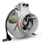 Vents Extracteur d'air 150mm 460m3/h Variateur et Thermostat