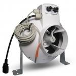 Vents Extracteur d'air 125mm 350m3/h Variateur et Thermostat