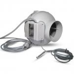 Extracteur d'air Prima Klima 125mm 400m3 Variateur et thermostat