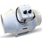 Vents Extracteur de Gaine TTUN 150mm - 560m3 Variateur de vitesse et Thermostat