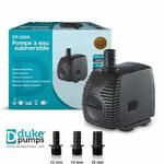 Pompe à eau Duke Pumps 2000l/h