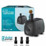 Pompe à eau Duke Pumps 1000l/h