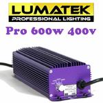 Ballast Lumatek 600w Pro 400v