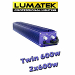 Twin lumatek 600w ballast double