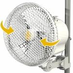 Ventilateur Monkey fan oscillant