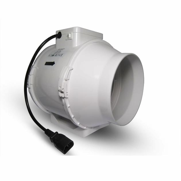 Extracteur de gaine ttrv 150mm 2 vitesses 560 470m3 for Extracteur d air 80 mm