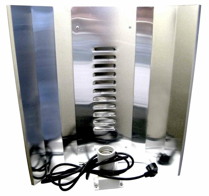 r flecteur cfl renforc c bl lampes eco reflecteurs growshop terre hydro culture. Black Bedroom Furniture Sets. Home Design Ideas