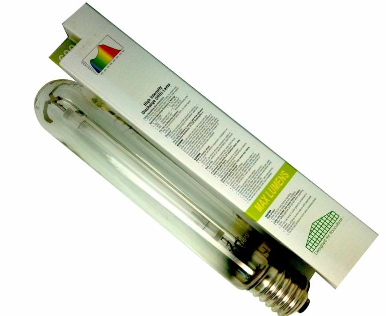 ampoule floraison max lumens hps 600w eclairage lampes. Black Bedroom Furniture Sets. Home Design Ideas