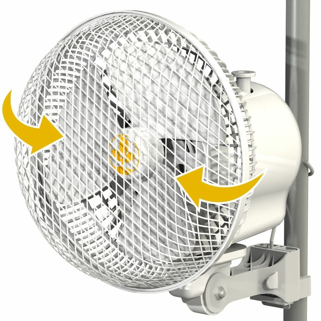 Ventilateur monkey fan oscillant pour box de culture - Ventilateur chambre de culture ...
