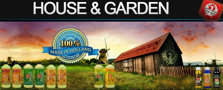 House and Garden engrais growshop