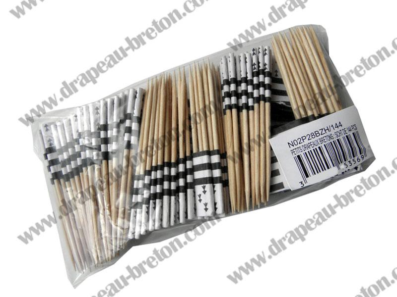 144 Petits Drapeaux bretons à piquer (remises quantitatives)