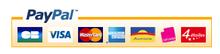 Logo de Paypal avec cartes bancaires