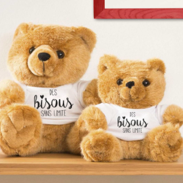 Petit ours en peluche MOSL