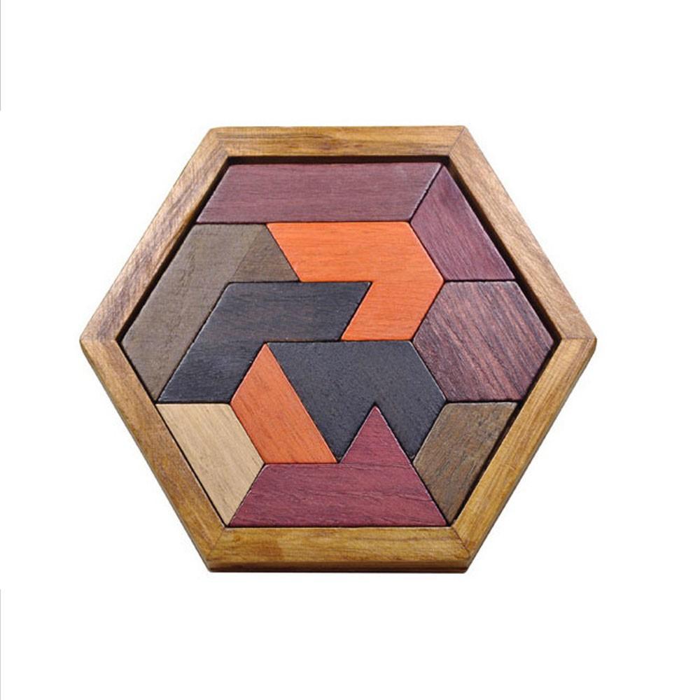 Puzzle Tangram en bois