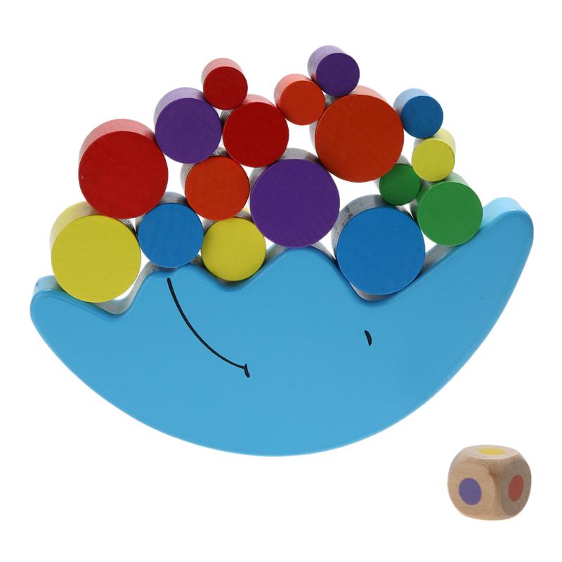Jeu equilibre de la lune pour bébé - jouet bomo