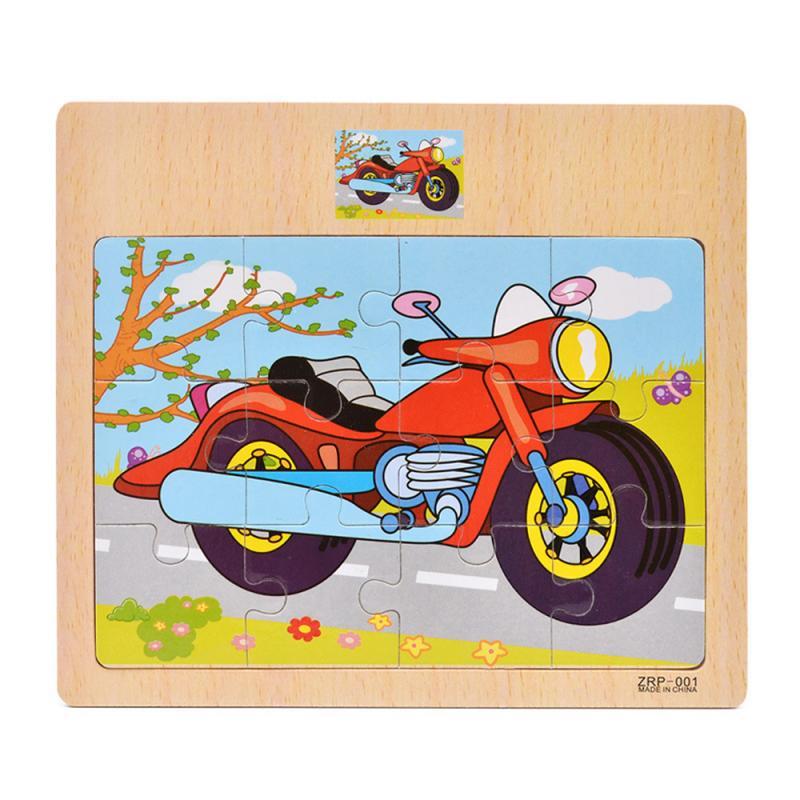 Puzzle en bois enfant