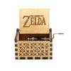 Boite à musique à manivelle de la boutique jouet bomo-cadeau-fan de musique-thèmes populaires tels que Queen, la Belle et la bête, Joyeux Anniversaire, Zelda