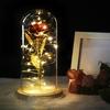 Rose eternelle sous dome en verre inspiré du conte de la Belle et la Bête de la boutique Jouet Bomo , idée cadeau pour la saint valention, anniversaire mariage et pour faire plaisir