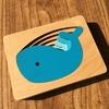 Jouet-Bomo-Bois-Montessori-3D-Animaux pour enfants et bébés-puzzle-baleine