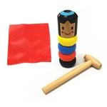 Daruma le petit bonhomme de bois incassable et immortel de la boutique Jouet Bomo