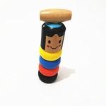 Le petit bonhomme de bois incassable et immortel de la boutique Jouet Bomo
