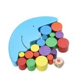 Presentation - Jeu educatif - dequilibre de la lune et ses blocs pour bébé - jouet bomo