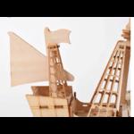 Puzzle Bateau a voile en bois zoom pont arriere - jouet bomo