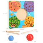 Candywood-Clip-perles-jouets-en-bois-perle-Puzzle-jeu-couleur-correspondant-Cognition-enfants-Montessori-jouet-ducatif