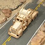 robotime-puzzle-3d-bois-camion-truck-modele-miniature-jouet-bomo-vue dessus
