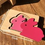 Jouet-Bomo-Bois-Montessori-3D-Animaux pour enfants et bébés-dimensions