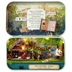 Mini monde à monter soi meme de la boutique jouet bomo puzzle-reconstitution par theme-maison de poupées-monde miniature-harry et bella-totoro-nostalgique-maison-chambre-puzzle-theatre