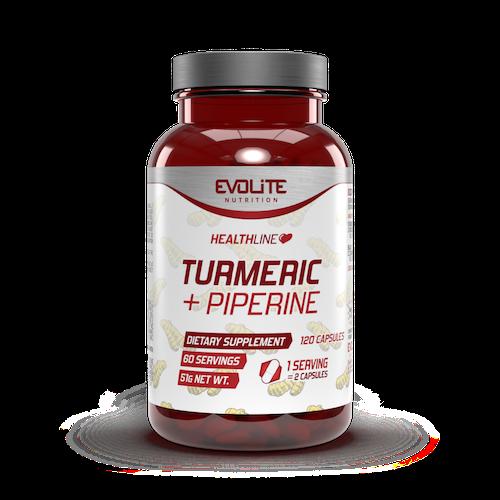 Turmeric + Piperine 120caps