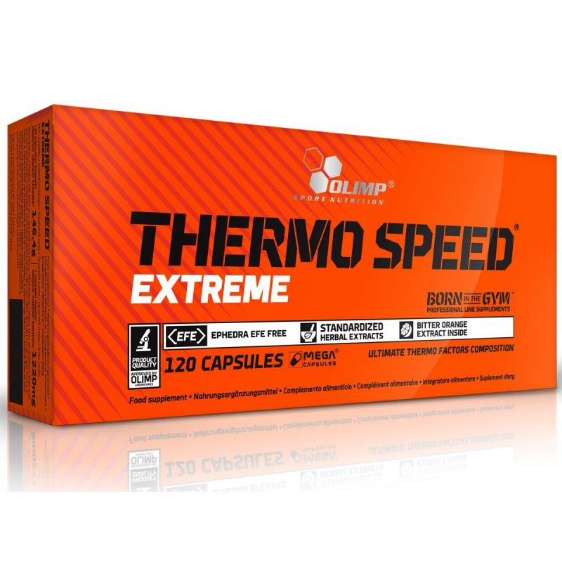 THERMO SPEED EXTREME - 120 caps