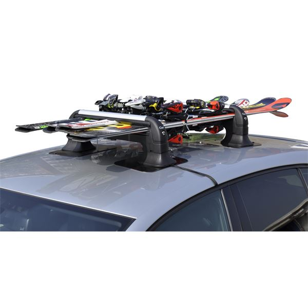 Porte ski magn tique vento 5 4 5 paires de skis ou 2 for Porte ski magnetique
