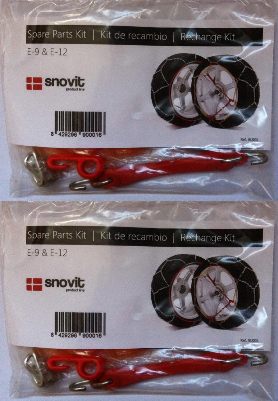 pack de 2 kits de r paration pour chaines neige vl porte skis et accessoires pro chaines neige. Black Bedroom Furniture Sets. Home Design Ideas