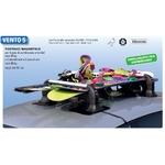 Porte Ski magnétique VENTO 5 - 4 à 5 paires de skis ou 2 snowboards et 2 paires de skis avec antivol