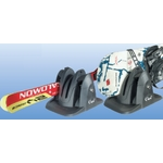 Porte Ski magnétique SHARK - 2 paires de skis ou 2 snowboards avec antivol