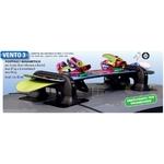 Porte Ski magnétique VENTO 3 - 3 paires de skis ou 2 snowboards avec antivol