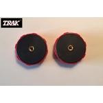 Pièce détachée TRAK - Lot de 2 molettes de serrage rondes TRAK