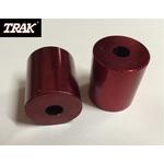 Pièce détachée TRAK - Lot de 2 rondelles de fix (cale rouge) TRAK