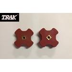 Pièce détachée TRAK - Lot de 2 molettes de serrage étoiles TRAK