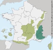 Carte France Loi Montagne 2021