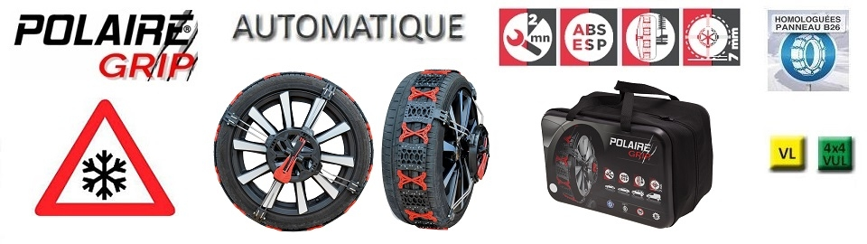Chaines Neige POLAIRE GRIP